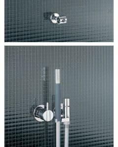 Vola 2171T9 Mixer Tap with Hand Shower
