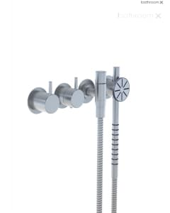 VOLA 5171S Thermostatic Mixer with Handshower