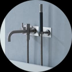 Vola Wall Mounted Bath Tap