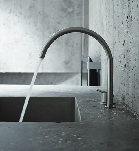 Vola 590H Deck Mounted Sink Mixer